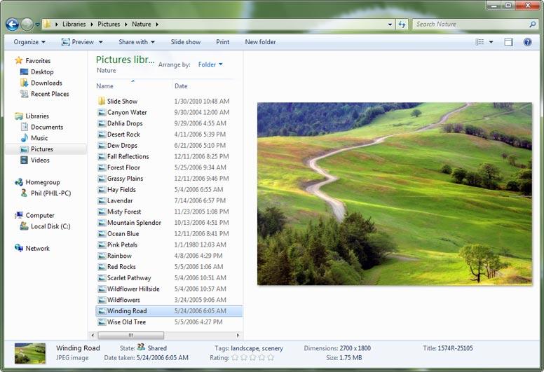 windows 7 programs